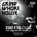 Grind Whore Houseライブ(20170730@新宿二丁目・ROOTS)