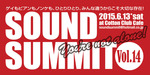 Sound Summit Vol.14(2015/06/13@福岡Cotton Club Cafe)